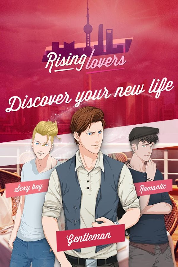 Rising Lovers, Otome Game – Capture d'écran