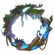 青藍の森の囁き
