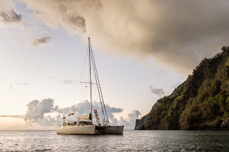 Photo: Arriving in the Marquesas Islands. AKA, paradise