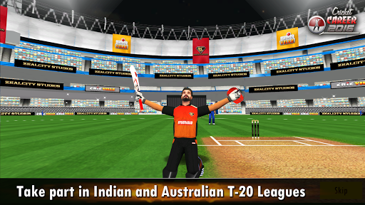 Cricket Career 2016  captures d'écran 2