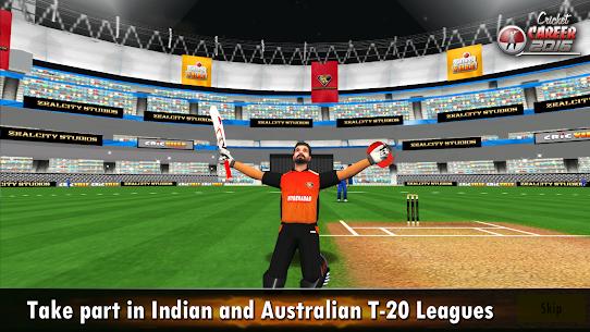 Cricket Career 2016 3.3 Android Mod + APK + Data 2