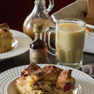 Fruit Sauce Bread Pudding Recipes