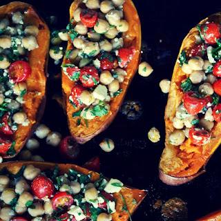 Loaded Sweet Potatoes Recipe