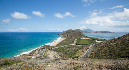 timothy-hill-lookout-st-kitts.jpg - The Timothy Hill lookout, with the Atlantic at left and tamer Caribbean at right in southern St. Kitts.