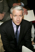 Photo: NEW YORK - FEBRUARY 06:  CNN news anchor Anderson Cooper attends the Ralph Lauren Fall 2006 fashion show at Skylight Studios during Olympus Fashion Week on February 6, 2006 in New York City.  (Photo by Paul Hawthorne/Getty Images)