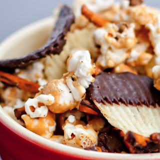 Salty + Sweet Snack Mix