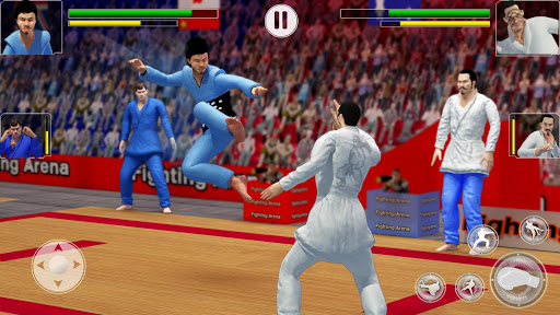 Tag Team Karate Fighting Tiger: World Kung Fu King apklade screenshots 2