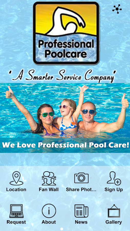 Professional Pool Care Orlando- screenshot