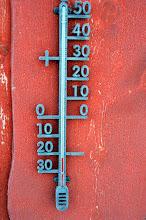 Photo: - 22 degrees Celsius!  Cold!!!!