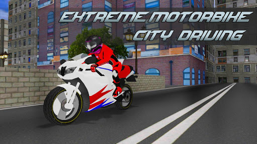 Extreme Motorbike City Driving