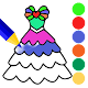 Download Dress Coloring Book : Dress Toys Coloring For PC Windows and Mac