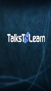 TalksToLearn - náhled