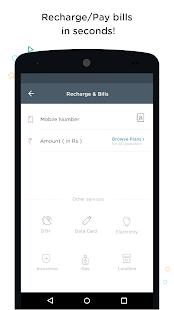 Mobile Recharge,Bill Pay, Shop Screenshot 2