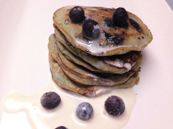 Amaretto Blueberry Pancakes Recipe