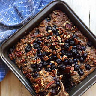 Blueberry Baked N'Oatmeal