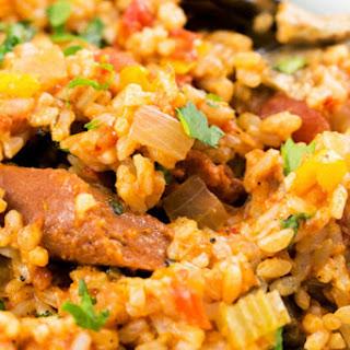 Easy Cajun Jambalaya [Vegan, Gluten-Free]