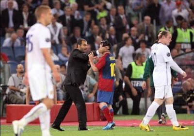 """Guardiola over Messi: """"Iets in zijn omgeving dat niet goed functioneert"""""""