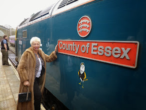 Photo: At Buxton Spa the engines were replaced by a Diesel engine - the County of Essex