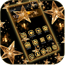 Theme black Gold – Golden Star v 1.1.1 app icon
