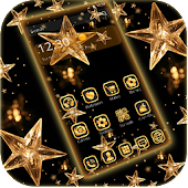 Theme black Gold - Golden Star