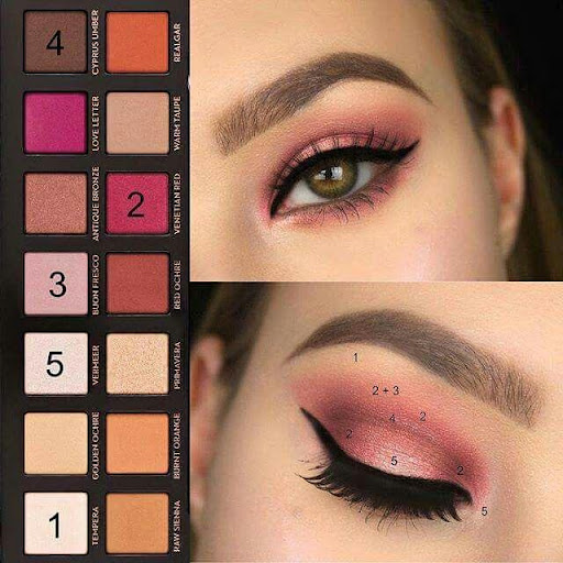 Step by step makeup (lip, eye, face) ud83dudc8e Apk 1