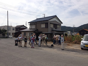 Photo: 今日は、愛知植物の会の観察会です。