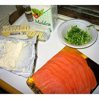 Salmon Latkes