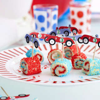 Fairy Bread Pinwheels