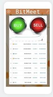 BitMeet Peer to Peer Crypto Trading - náhled