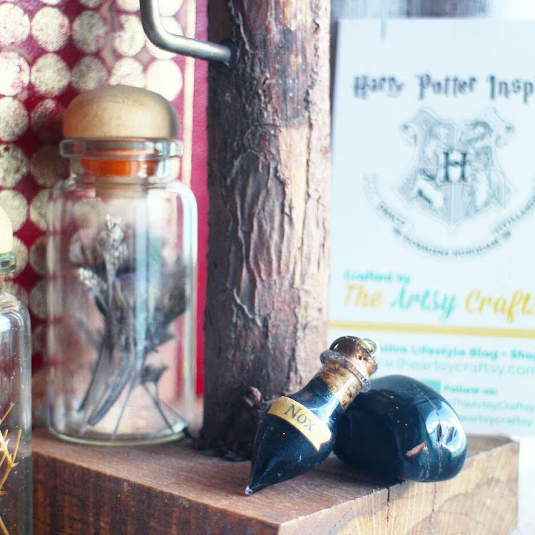 Harry Potter Inspired Potion Pendant - Nox by The Artsy Craftsy