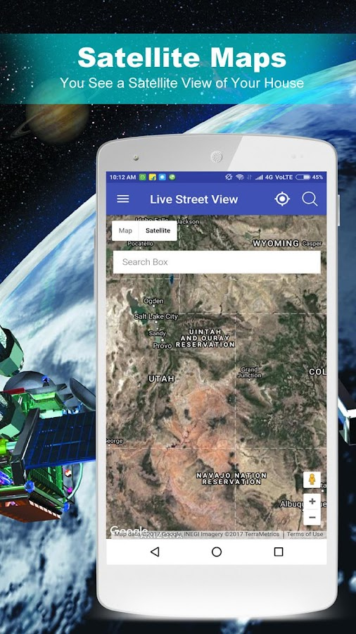 Street Live Map View Android Apps On Google Play - Live satellite map view of my house