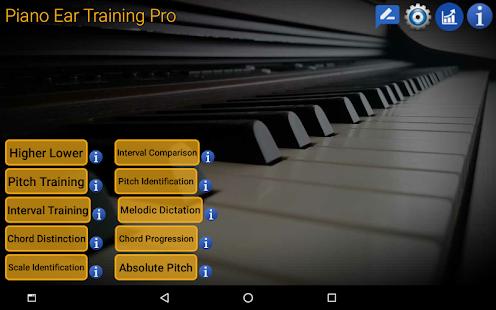 Piano Ear Training Pro Screenshot