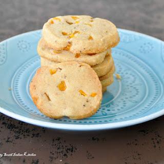 Jackfruit Shortbread Cookies With Cardamom.