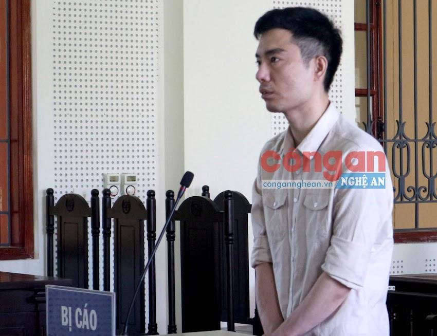 Bị cáo Trần Đình Hữu tại phiên tòa