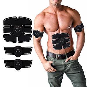 Aparat fitness cu electrostimulare pentru abdomen, brate, talie si picioare