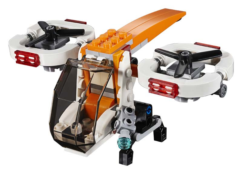 Contenido de Lego® 31071 Dron de Exploración