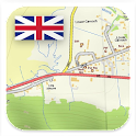 British OS Topo Maps icon