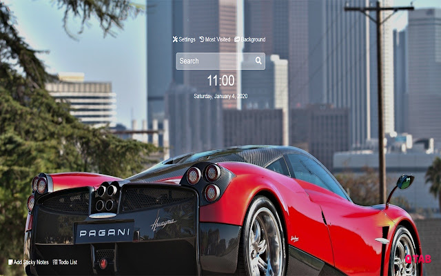 Pagani Wallpapers Pagani New Tab HD
