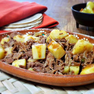 Mexican Style Steak and Potatoes Recipe