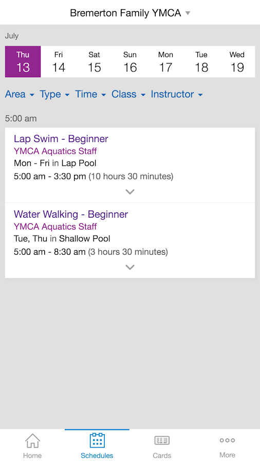 YMCA of Pierce & Kitsap- screenshot