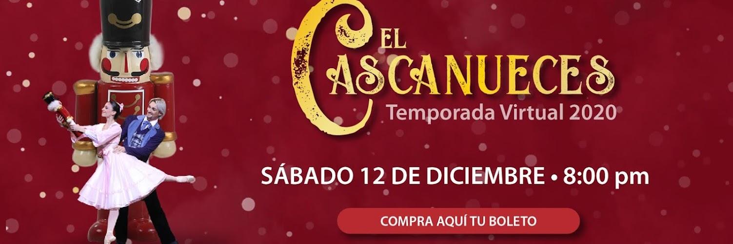 El Cascanueces Sábado 12 de Diciembre 8 pm