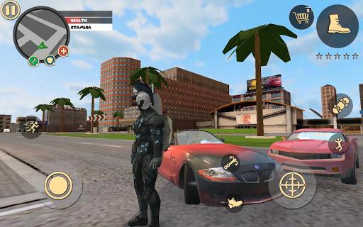 Télécharger Rope Hero: Vice Town APK MOD (Astuce) screenshots 1