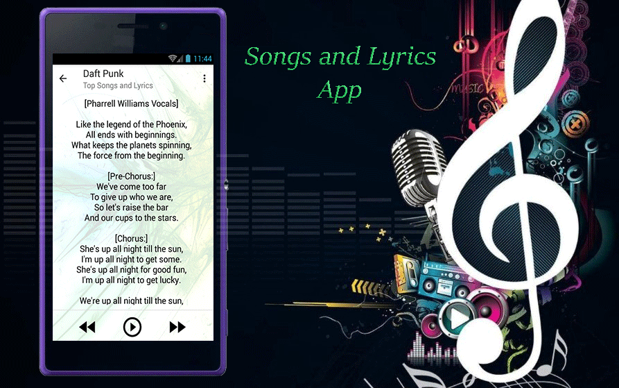 Daft Punk Top Songs Lyrics Android Apps On Google Play - Songs like get lucky daft punk popular