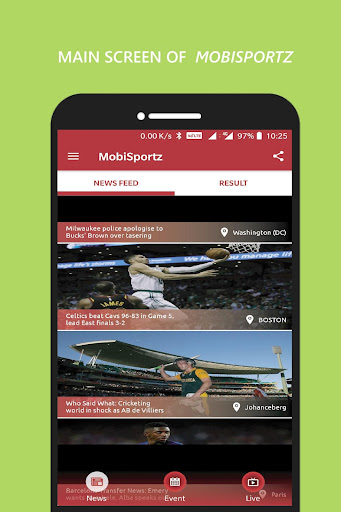 MobiSportz 2.3.3 screenshots 1