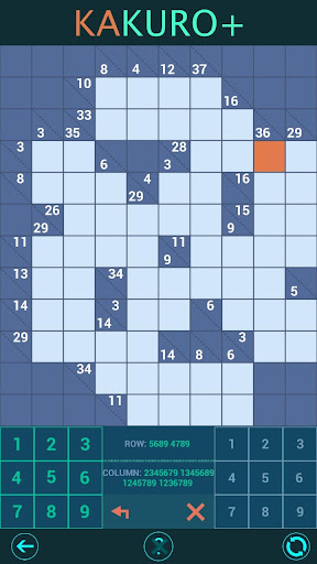 Kakuro Plus. Cross-Sums. For beginners to experts. android2mod screenshots 3