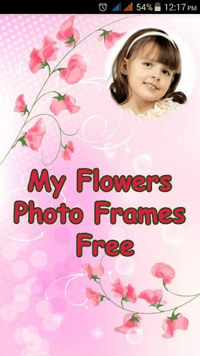 My Flowers Photo Frames Free