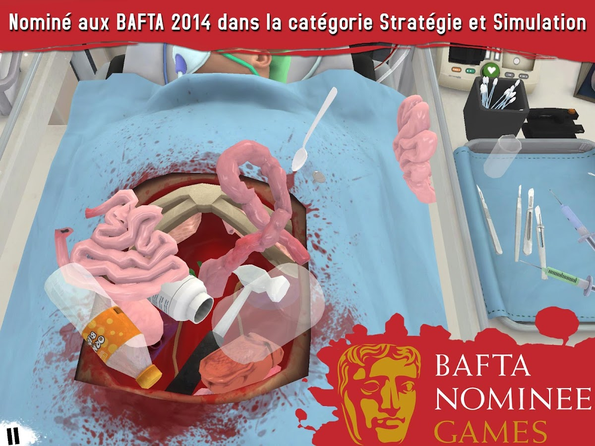 Surgeon Simulator – Capture d'écran