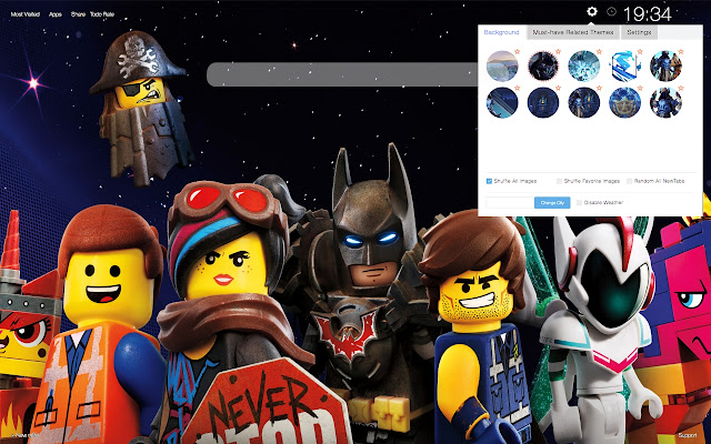 Lego Movie 2 Wallpapers New Tab