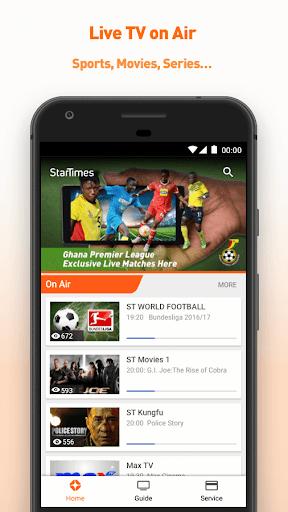 StarTimes - Live TV & Football 4.5 screenshots 1