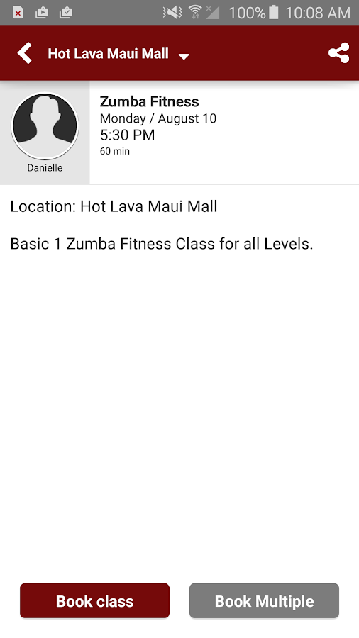 Keoni's Hot Lava DanceFit- screenshot